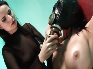 Latex and hospital action with stunning babes
