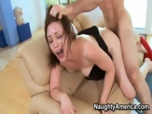 Brunette Cougar Has Rough Sex W ... free