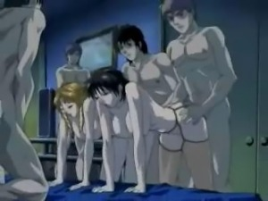 Japanese Orgy Cartoon