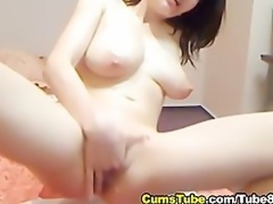 Hot Babe Overflowing with Milk HD