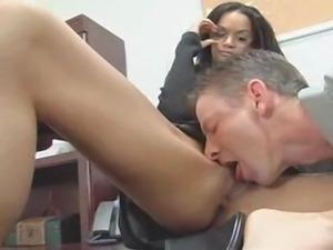 Tyra Banxxx Office Fuck