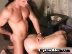 Hunky young guy pounds a hot milf from part2