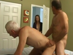 Amazing blowjob from a silver daddy leaves me shaking