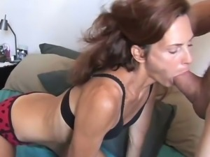 Skinny milf loves to fuck
