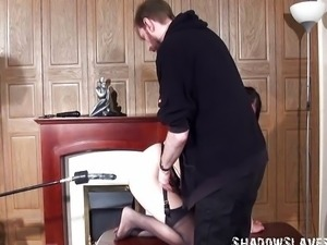 Kinky domination and sextoy machine fucking