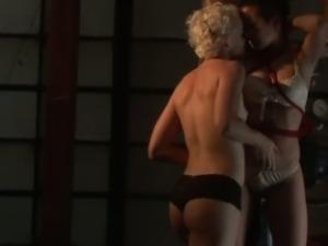 Sexy lesbian bdsm session