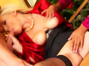 Glamorous eurobabes threesome ffm fucking in high definition