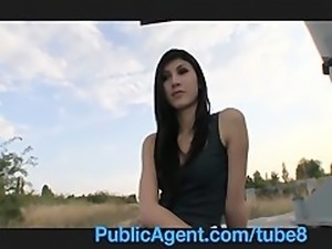 PublicAgent POV Outdoor Reality Sex for Cash