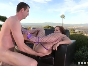 german babe katja gets her ass invaded!