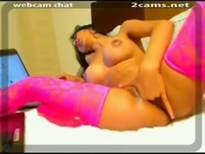 New Hot Busty Latina Pussy Fisting Webcam Show 3 Part04 free