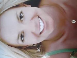 Britney Spears Cumshot 7