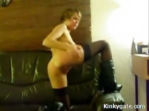 Self Spanking Mature Submissive Angela