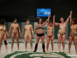 naked girls fight for total domination
