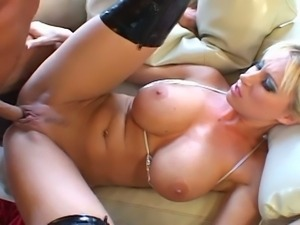 Sweet sweet big tits and nice round ass blonde