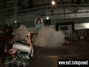 Gorgeous Tanja Causes 100 Erections on stage free