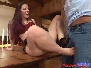 MILF Foot and Pantyhose Fetish Sex free