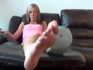 step sister feet