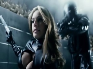 Kelly Brook Hot Scene From Metal Hurlant Chronicles free