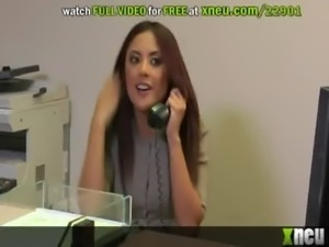Wild Sex With Hot Asian Kaylani Lei In The Office free