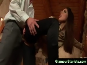 Naughty glam euro bitch gets fucked free
