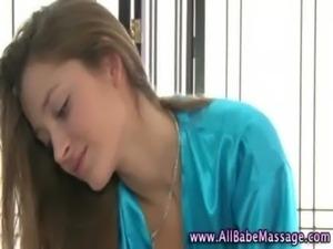 Beauty gives lesbian massage free