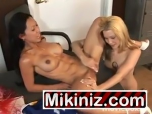 College Sweethearts Brooklyn Night Tia Ling Asian, Big Boobs Blonde Brunette...