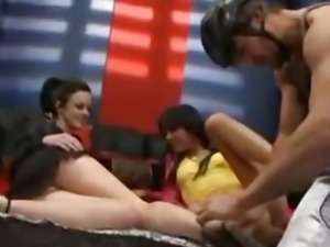 Tanner Mayes & Stephanie Sage 2 Teens In A Threesome