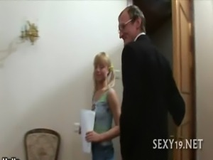 Delightful anal sex with teacher free