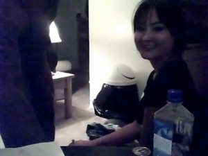 Homemade asian GF cant handle black cock free