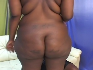 Bbbw getting her sexy black pussy fucked