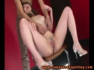 Oriental amateur squirts on command free