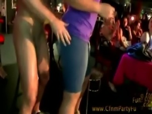 Cfnm party amateur sluts enjoy male stripper free