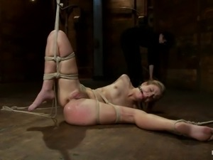big juicy lips blonde being punished
