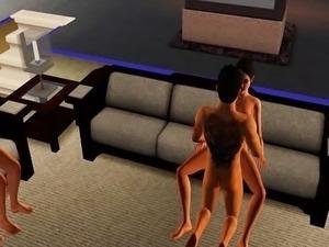 """Sims Porno - """"Double Date"""""""