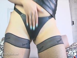 Foot Worship and Cock Bondage