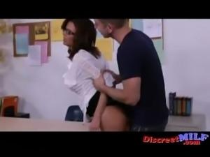 My Nerdy Teacher is a Dirty MILF free