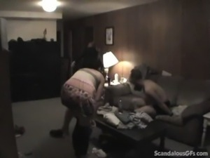 Man Gets Caught Banging His Preggy Sister-In-Law free