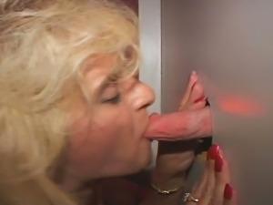 Granny gets her boner