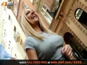 Russian hottie & two friends free