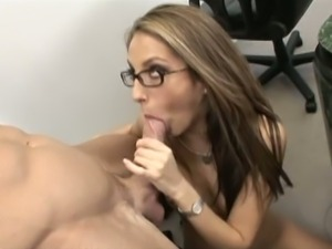 Hot jenna haze is an anal secretary
