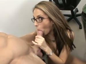 Hot jenna haze is an anal secretary