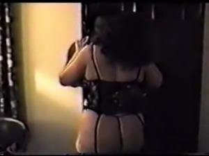 My all-time favorite.  Sexy voluptuous wife in lingerie gets worked over by BBC