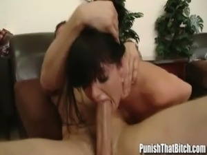 that interrupt busty brunette toyed and fucked have forgotten