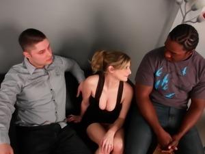 Lya Pink got a black cock on her birtdhay