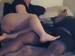 Foot job and Doggie