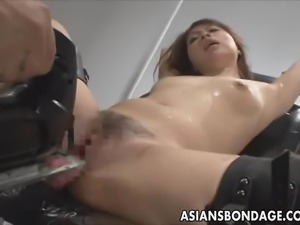 If you like Japanese bondage videos, you will love this video. This hot Asian...