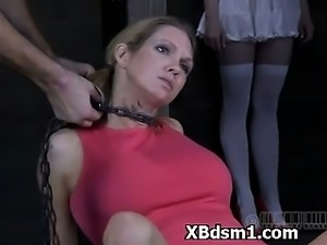 Hilarious BDSM Woman Wild Makeout