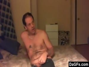 Pleasing her man like a slut free