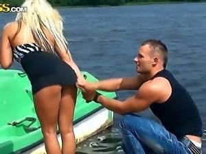 Young chicks from college having fun with their hungry for sex boyfriends on...