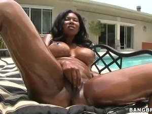 Jessica Dawn is a hot busty black slut that gets